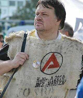 hartzivprotest - Hartz IV: DGB meint Kombilohn besser als 1Euro-Job