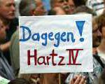 Spannende Anti-Hartz IV Aktion