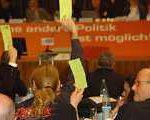 wasgparteitag 150x120 - Fusion zwischen WASG und Linkspartei zugestimmt