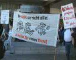 hartzprotest 150x120 - Hartz IV: Protest gegen 1 Euro Job Vergabe