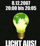 lichtaus 129x150 - Klima Aktion: Für 5 Minuten ohne Licht
