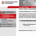 Initiative fälscht Bundesagentur Internetseite
