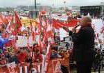 100.000 demonstrierten für soziale Gerechtigkeit