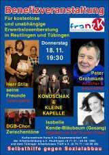 hartz4 beratung reutlingen - Künstler unterstützen kostenlose Hartz IV Beratung