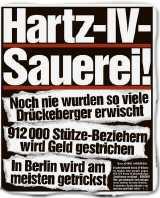 hartz hetze - Parteiübergreifender Aufruf gegen Hartz IV Strafen
