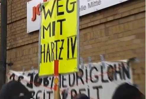 protest bremen - Hartz IV: Jobcenter starten heute mit Allegro