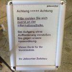 jobcenter zwickau aufgang 150x150 - Hartz IV: Jobcenter schottet sich ab