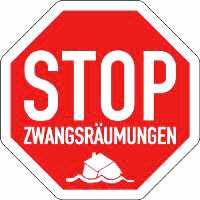 zwangsauszug - Protest gegen Zwangsräumung wirkt