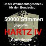 sanktionen geschenk 150x150 - Geschafft! Über 50.000 gegen Hartz IV Sanktionen