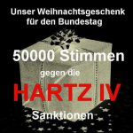 Geschafft! Über 50.000 gegen Hartz IV Sanktionen