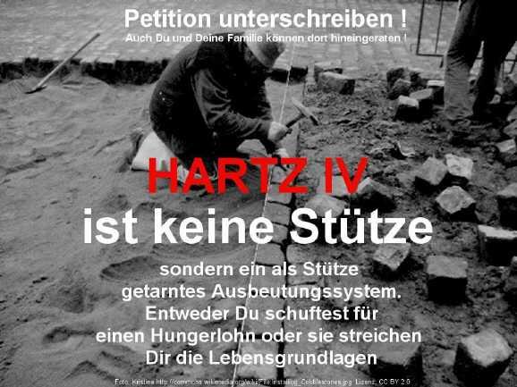 hartz4 petition - Anhörung zur Petition gegen Hartz IV Sanktionen