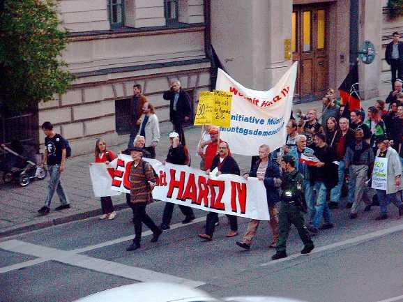 aufrecht gehen - Hartz IV: Charta der Selbstverständlichkeiten