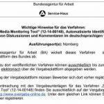 ba spionage tool 150x150 - BA will Hartz IV Bezieher bei Facebook beobachten
