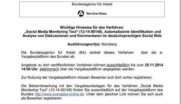 ba spionage tool - BA will Hartz IV Bezieher bei Facebook beobachten