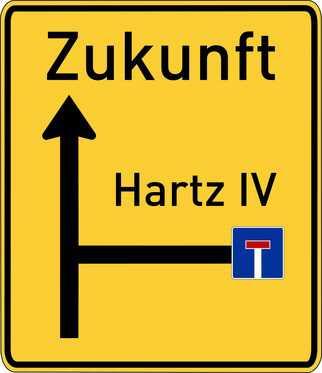 einbanstrae hart4 - Hartz IV: Zersetzung im Jobcenter