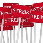 Hartz IV-Bezieher im Streik