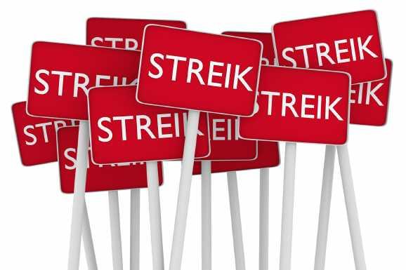 streik erwerbslose - Hartz IV-Bezieher im Streik