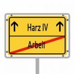 Viele Ewerbslose rutschen direkt in Hartz IV