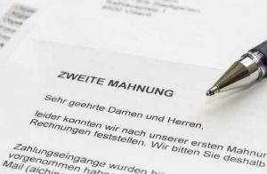 mahnung ba 300x196 - Hartz IV: Wenn das Jobcenter eine Mahnung schickt