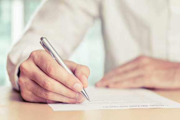 unterschreiben - Vorsicht beim Leisten von Unterschriften!
