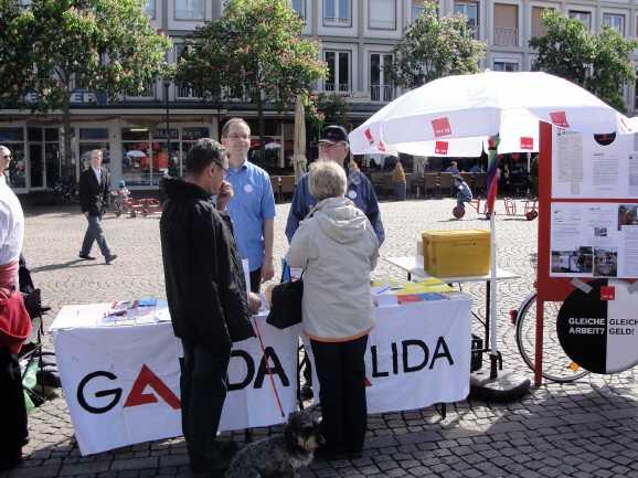 galida - Arbeitsloseninitiative GALIDA in Bedrängnis