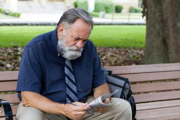 aeltere menschen - Ältere Erwerbslose in der Hartz IV-Falle