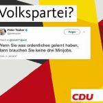 volkspartei 150x150 - CDU Mann Peter Tauber diffamiert MiniJobber