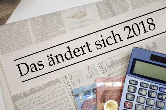 aenderungen 2018 - Hartz IV, Rente und Co: Das ändert sich 2018