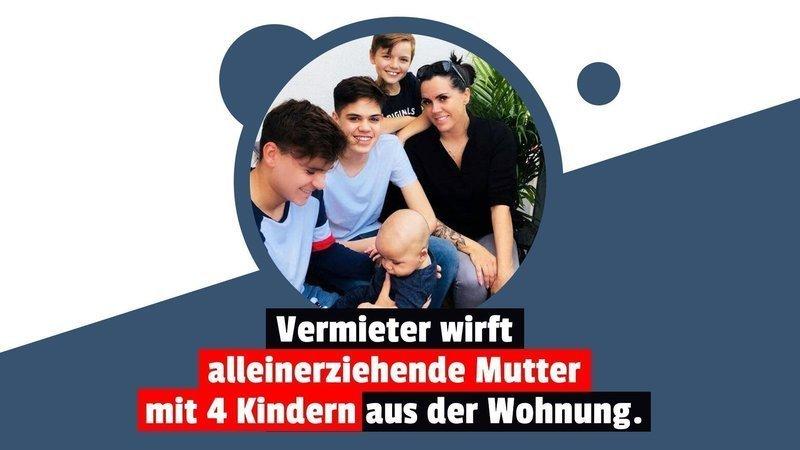 sYHmNUbPLdhHjOk 800x450 noPad - Gnadenloser Vermieter: Alleinerziehende Mutter mit 4 Kindern wird Obdachlos!
