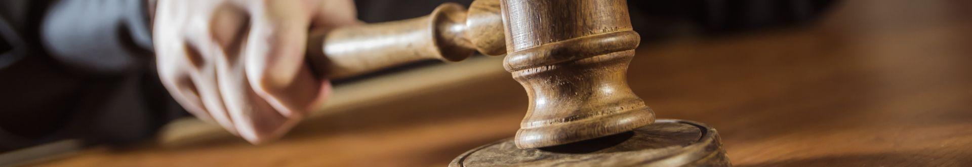 Verhandlung vor Gericht