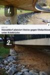 steine bruecke duesseldorf 100x150 - Düsseldorf setzte Steine unter der Rheinbrücke, um Obdachlose zu vertreiben - Unbekannte schafften sie weg