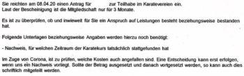 Karateverein 350x109 - Hartz IV: Jobcenter drohen wegen Teilhabeleistungen mit einem Leistungsentzug