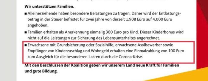 CDU Bild 1 - Leak: Hartz IV Zuschlag war im Corona-Paket