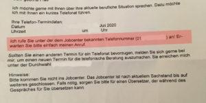 """Hartz IV: Neuer Jobcenter Befehl: """"Ich rufe sie an! Erwarten Sie meinen Anruf"""""""