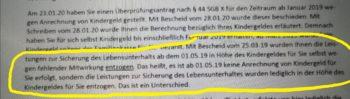 kindergeld hartz iv 350x99 - Hartz IV: Fiktive Kindergeld-Anrechnung mit aberwitziger Begründung