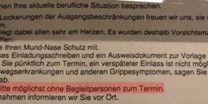 Hartz IV - Jobcenter möchte keine Beistände