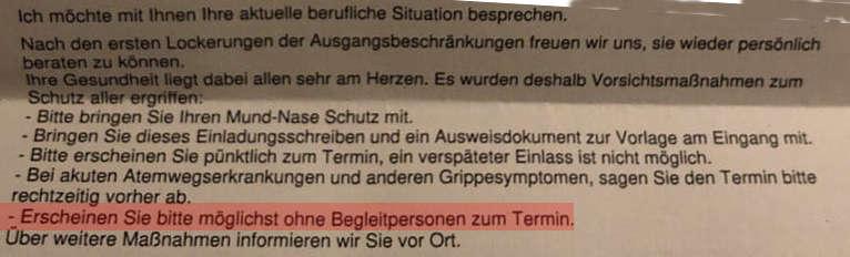 kein beistand - Hartz IV - Jobcenter will keine Beistände