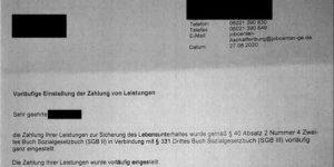 noetigung im jobcenter aschaffenburg 300x150 - Jobcenter nötigt mit Hartz IV-Einstellung wenn Anwaltsvollmacht nicht widerrufen wird