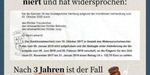 Hartz IV: Nach 3 langen Jahren gegen das Jobcenter gewonnen