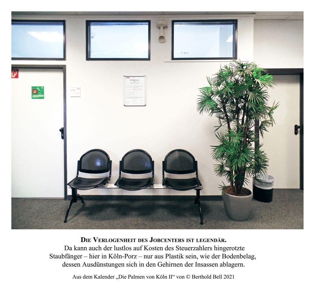 """Palme Jobcenter Porz kl kl - Jobcenter-Mitarbeiterin zum Beistand: """"Ich mache hier die Gesetze"""""""