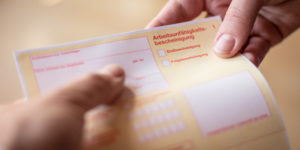 Agentur geschlossen: Arbeitslosmeldung gilt rückwirkend